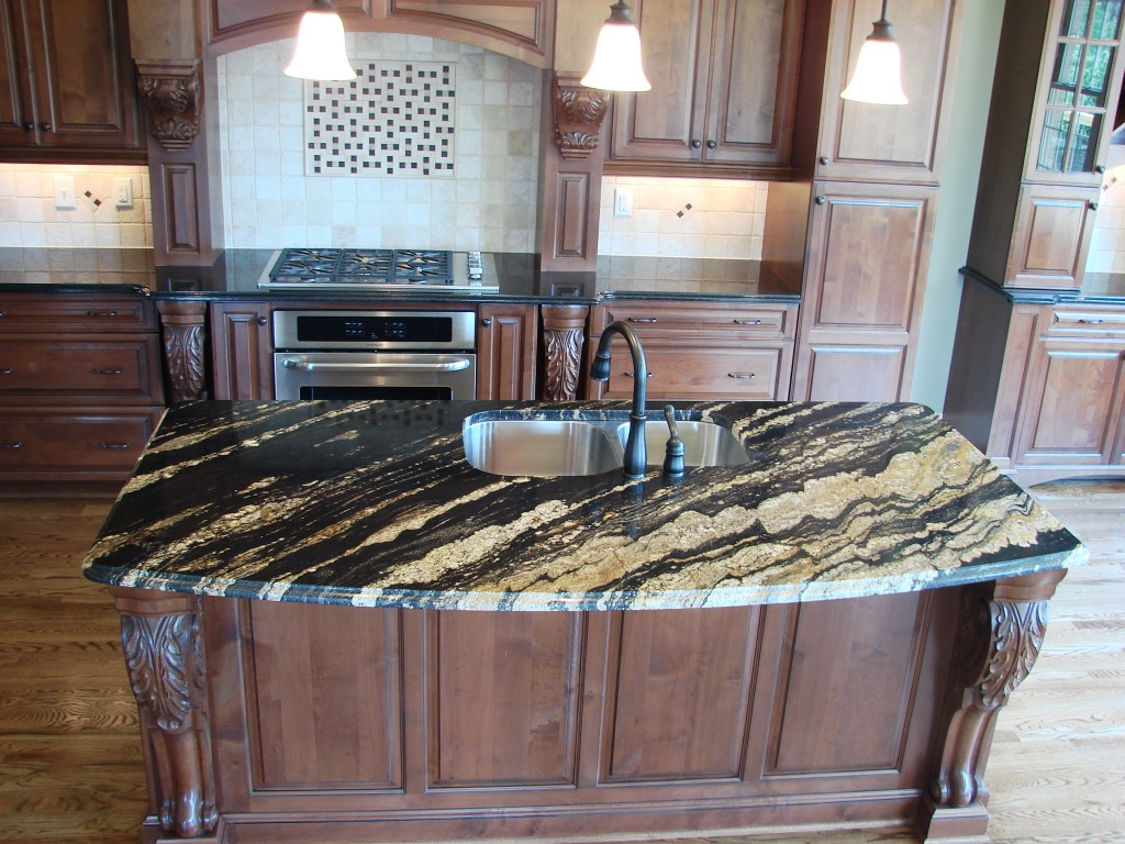 Marble Looking Granite Countertops : Ideas For Adding Color To Your Kitchen Amanzi Marble & Granite