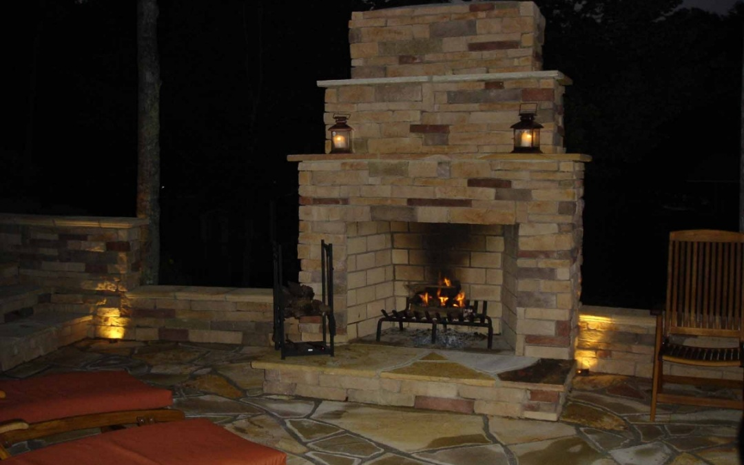 New Design Trends in Outdoor Fire Features