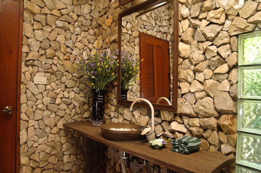 Decorating With Natural Stone Exposed Stone Walls