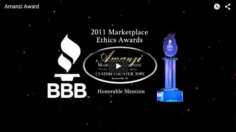 Marketplace Ethics Award