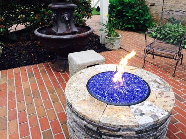 That's Hot! A Gorgeous Fire Pit by Amanzi