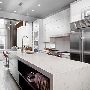 Quartz countertops from Amanzi offer great benefits to your kitchen
